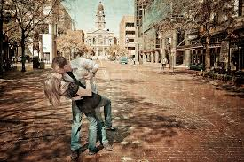 Fort Worth Photographers Fort Worth Stock Yards Engagement Photography Daniel And Lauren