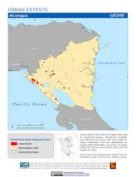 Map Of The Caribbean Sea by Maps Global Rural Urban Mapping Project Grump V1 Sedac