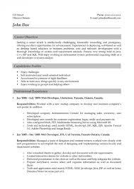 Php Developer Resume Sample by Programming Resume Examples
