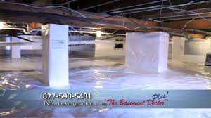 Getting Rid Of Mold In Basement by Get Rid Of Crawl Space Mold And Moisture Crawl Space