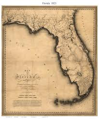 Fl State Map by Old State Maps Of Florida