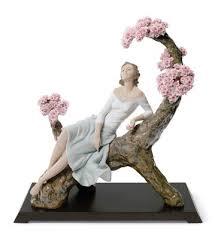 lladró porcelain figurines sweet scent of blossoms