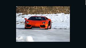Coolest Lamborghini by 10 Incredible Winter Driving Experiences Cnn Style
