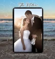 themed photo albums photo print on leatherette wedding album our wedding albums
