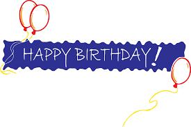 happy birthday ribbon happy birthday ribbon clipart clipartxtras