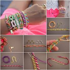 bracelet diy friendship images How to diy embellished friendship bracelets jpg