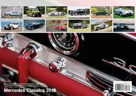 classic red mercedes mercedes classics 2018 calendar english german and french
