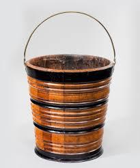 waste paper baskets 19th century dutch bucket waste paper basket reindeer antiques