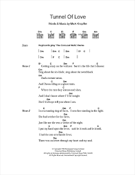 sultan of swing chords tunnel of sheet by dire straits lyrics chords 108531