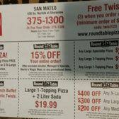 round table pizza menu coupons round table pizza order food online 54 photos 56 reviews