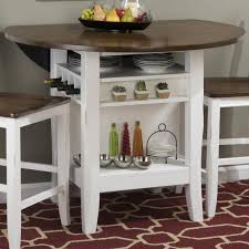 Drop Leaf Bar Table White Round Drop Leaf Dining Table Round Designs