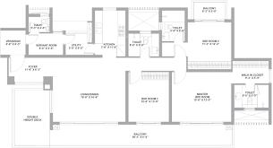 Gateway Floor Plan by Tata Housing Gurgaon Gateway By Tata Housing Development In Sector