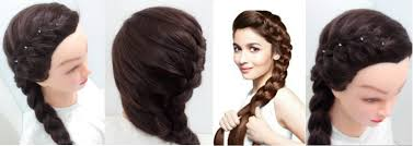 side braid hairstyles for medium hair youtube