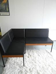 the retrobarn vintage knoll style modular bench seats with