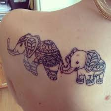 the charming tattoos with baby elephants tattoos pinterest