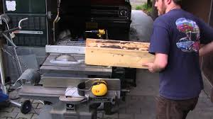 On Table by Diy Log Resaw On Table Saw Youtube