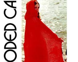 crochet pattern hooded cape pattern crochet cloak pattern