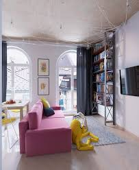 Modern Pop Art Style Apartment by Colorful Apartment Interior Design With Charming Feature Roohome