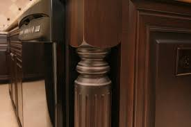 Kitchen Island Legs Meta Duffy Home A Traditional Cherry Kitchen For A Modern Family Cab