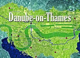 thames river map europe danube on thames the new eastenders