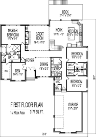 3 Bedroom Floor Plans With Garage 3 Bedroom House Designs And Floor Plans With 3 Car Garage 1 Story