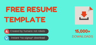 Free Resume Template Downloads For Word Download Free Professional Word Cv Template For Students U0026 More