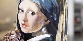 painting girl with pearl earring girl with a pearl earring cake delish