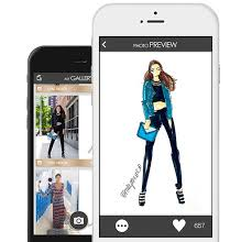 a new sketch app that turns your ootds into stylish fashion
