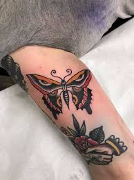 butterfly tattoo reddit trad butterfly tattoo by esther mulders in montreal canada