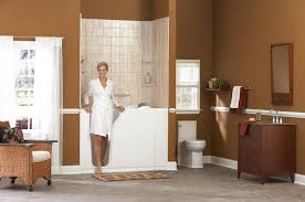 Walk In Bathtubs With Shower Walkin Bath U0026 Safety Shower Leads On Demand Lead Transfer