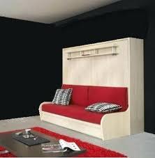 armoire lit avec canapé meuble avec lit integre lit escamotable autoporteur armoire lit