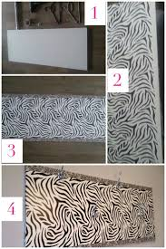 44 best zebra print wall border images on pinterest zebra print diy zebra print clothing hanger what you need self adhesive sticker in zebra print