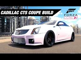 build cadillac cts supercharged cts v coupe build forza horizon 3
