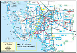Florida Zip Code Map Free Lee County Florida Realtor Map Sw Florida Real Estate Resources
