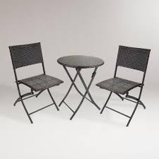 Wicker Bistro Table And Chairs Bistro Sets And Outdoor Furniture Sets World Market