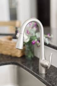 moen edwyn spot resist stainless 1 handle pull down kitchen faucet