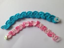 bracelet crochet pattern images How to crochet easy and beautiful bracelet jpg