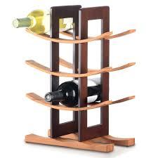 floor standing wine rack curved wooden floor standing wine racks