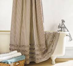 Dainty Home Flamenco Ruffled Shower Curtain Whimsy Pretty Things Ruffle Shower Curtains