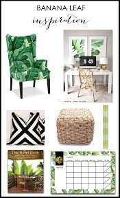 banana leaf home decor ideas for a modern fresh look banana