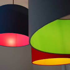 Drum Lights Pick And Mix Drum Lampshade Choice Of Colours By Quirk
