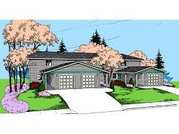 ozark meadows triplex home plan 085d 0850 house plans and more