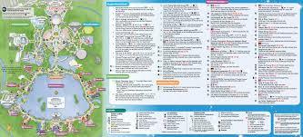 Unt Parking Map June 2016 Walt Disney World Park Maps Photo 1 Of 4