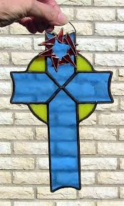 93 best witraż sakralne images on stain glass cross
