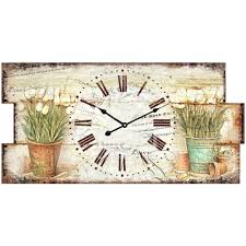 Wooden Wall Clock by Home Decor Customer Size Wooden Wall Clock In Chinese Factory