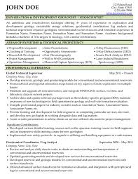 Detailed Resume Example by Expert Global Oil U0026 Gas Resume Writer