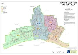 Nj Counties Map 2012 Election Map With New Districts And Wards City Of Trenton