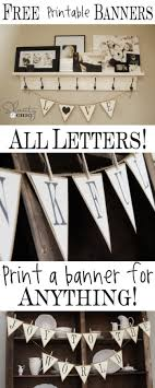 printable alphabet bunting banner erg leuk voor de babykamer i can make these banners garlands