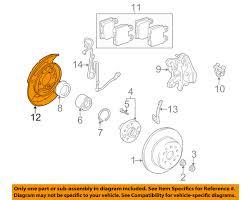 lexus is300 rear brakes lexus toyota oem sc430 rear brake backing plate splash dust shield