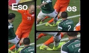 Robben Meme - los memes de la eliminaci祿n del tri la silla rota